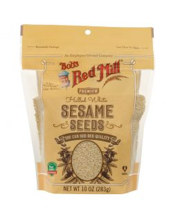 Bob's ref Mill white sesame seeds