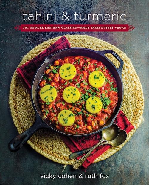 Cover of the cookbook tahini and turmeric