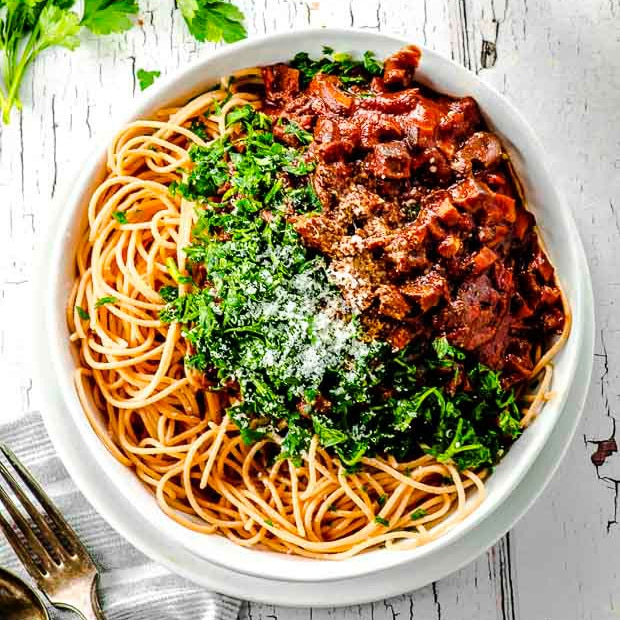 High Protein Easy Mushroom Pasta May I Have That Recipe