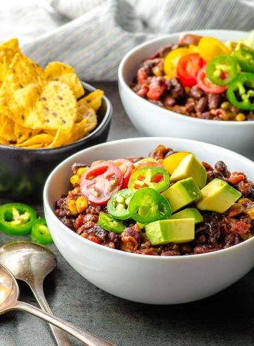 30 Minute Black Bean Chili