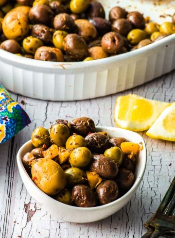 Not Just For Passover Recipes – Roasted Olives