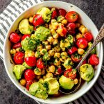easy chickpeas salad