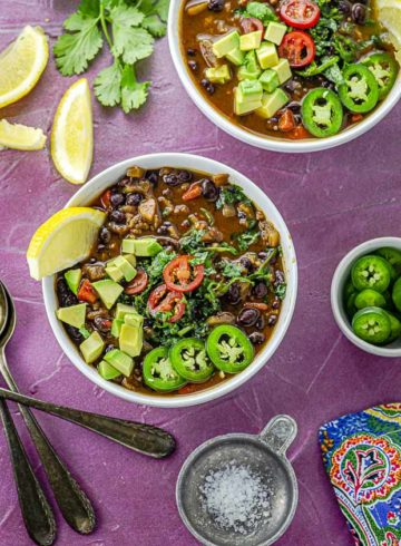 The Best Black Bean Soup