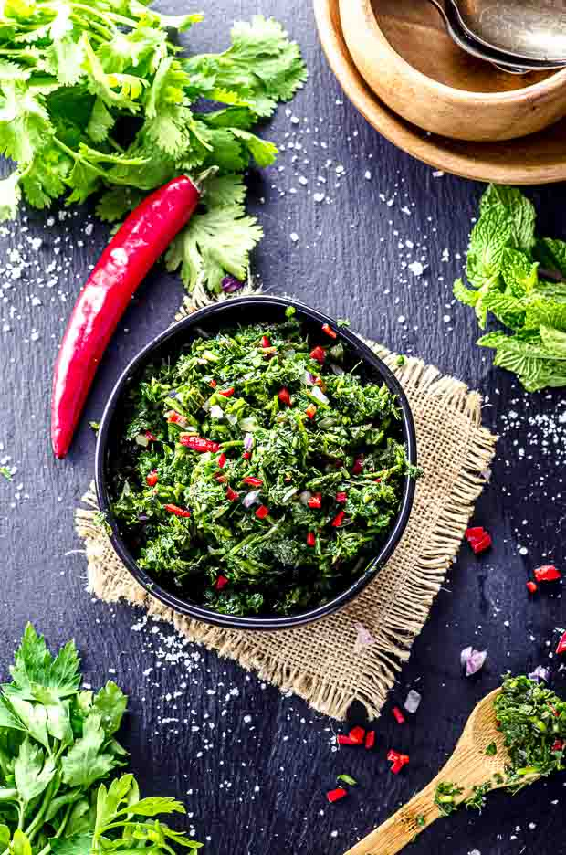 Chimichurri A Fresh Sauce From Argentina May I Have That Recipe